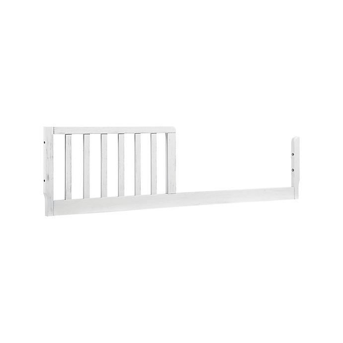 Alternate image 1 for DaVinci M3099 Toddler Bed Conversion Kit Rail in Cottage White