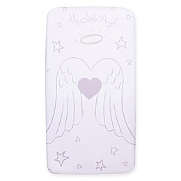 Trend Lab® My Tiny Moments™ Angel Fitted Crib Sheet
