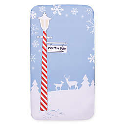Trend Lab® My Tiny Moments™ North Pole Fitted Crib Sheet