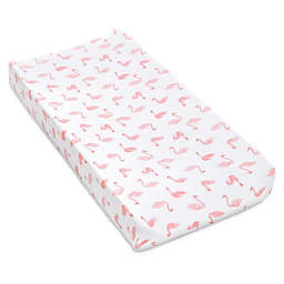 aden + anais™ essentials Swan Changing Pad Cover in Pink