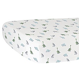 Hello Spud Dino Organic Cotton Fitted Crib Sheet