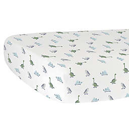 Hello Spud Dino Organic Cotton Fitted Crib Sheet