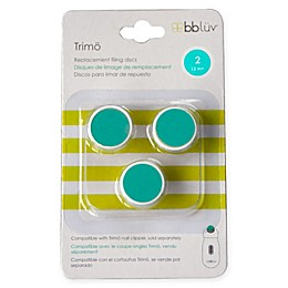 bbluv® 3-Pack Trimö Baby Electric Nail Trimmer Stage 2 Replacement Filing Discs