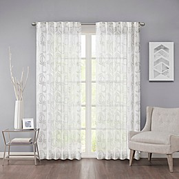 Regency Heights Cosma Rod Pocket/Back Tab Sheer Window Curtain Panel