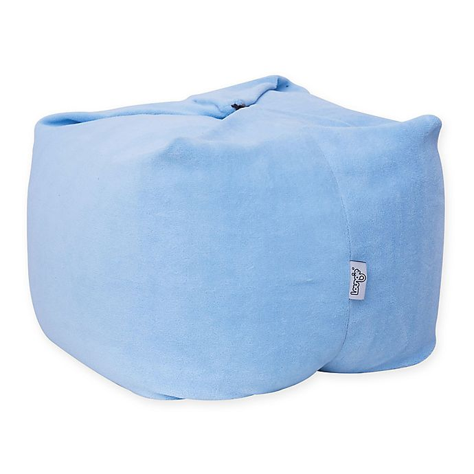 Alternate image 1 for Loungie Magic Pouf Bean Bag Ottoman in Blue