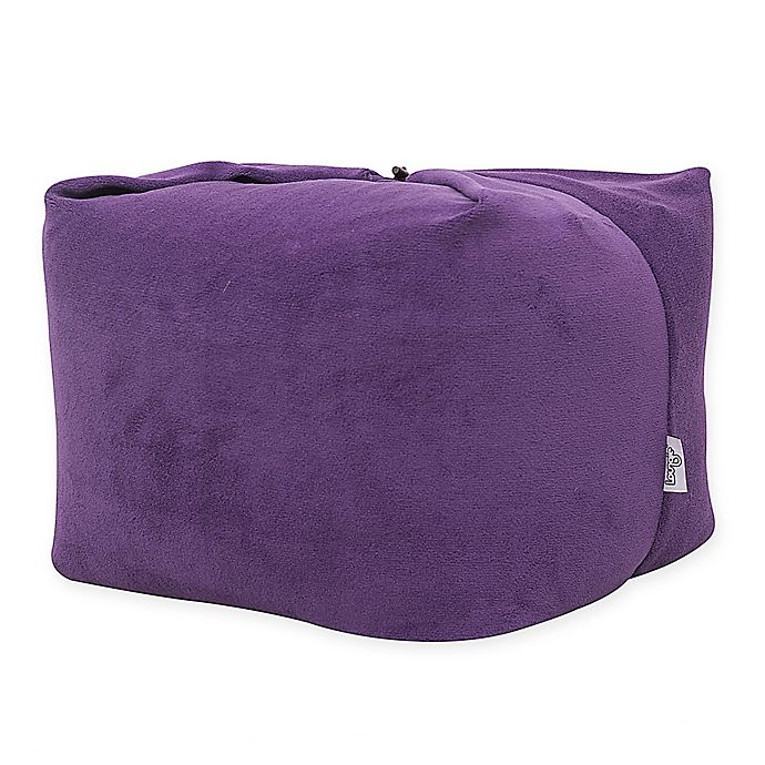 Alternate image 1 for Loungie Magic Pouf Bean Bag Ottoman in Purple