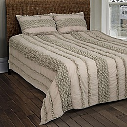 Rizzy Home Georgette Textured Queen Quilt Set