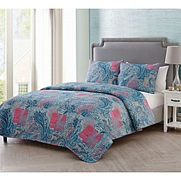 VCNY Home Ava Paisley Quilt Set