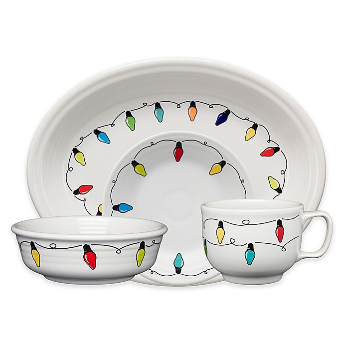 Alternate image 1 for Fiesta® Christmas Lights Dinnerware Collection