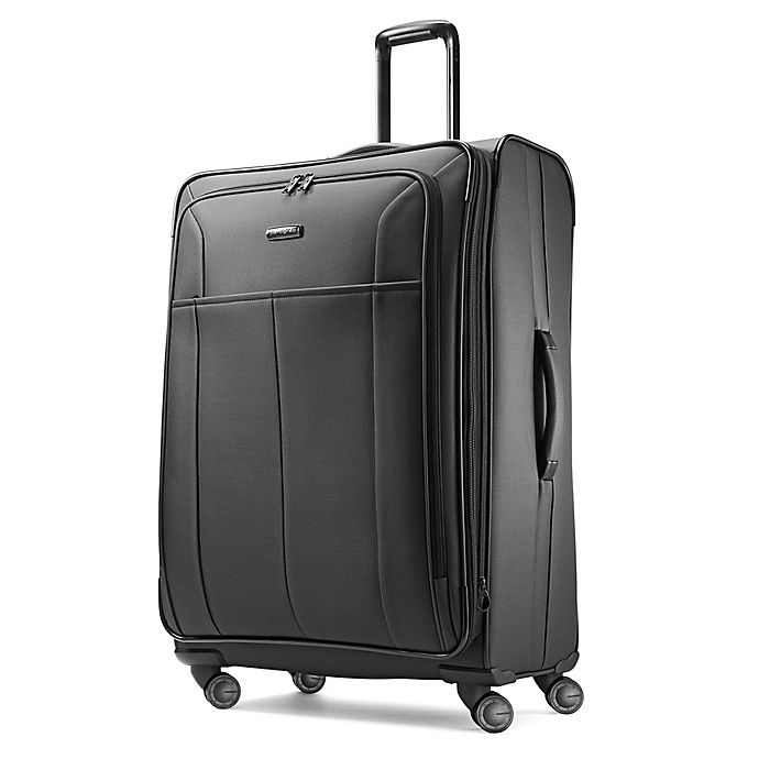 Alternate image 1 for Samsonite® Signify 29-Inch Spinner Checked Luggage in Charcoal