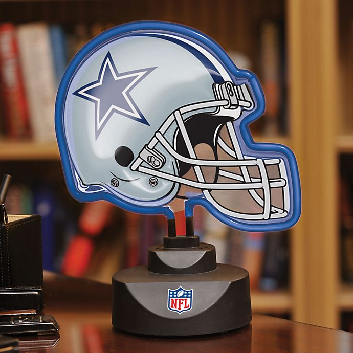 Nfl Dallas Cowboys Neon Helmet Lamp Bed Bath And Beyond Canada