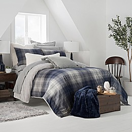 UGG® Redding Plaid Reversible Duvet Cover Set