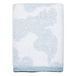 DKNY City Bloom Hand Towel in Blue