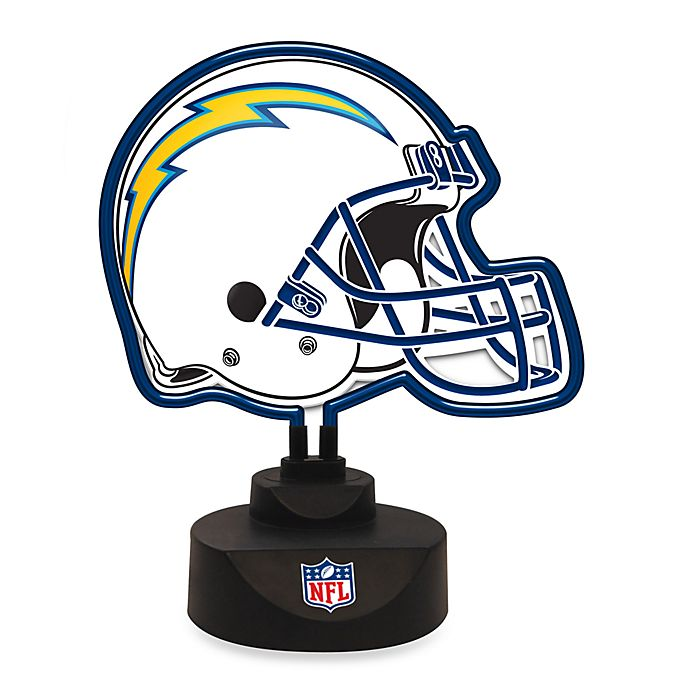 San Diego Chargers For Sale: NFL San Diego Chargers Neon Helmet Lamp