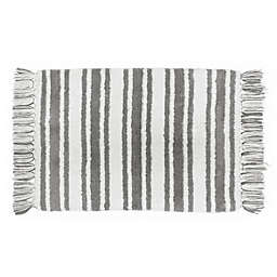 Striped Bath Rugs Bed Beyond