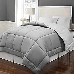 Microfiber Down Alternative Reversible Comforter
