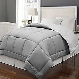 Microfiber Down Alternative Reversible Comforter