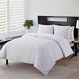 VCNY Home Nina 3-Piece Embossed Comforter Set