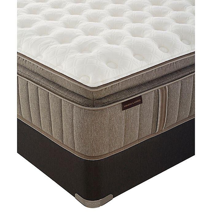 Alternate image 1 for Stearns & Foster® Oak Terrace Euro Pillow Top Cushion Firm Twin XL Mattress