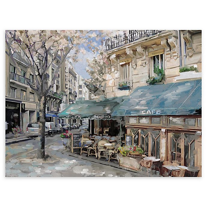 Alternate image 1 for Masterpiece Art Gallery Bistro de Paris I 30-Inch x 40-Inch Canvas Wall Art