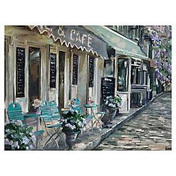 Masterpiece Art Gallery Bistro de Paris II Canvas Wall Art