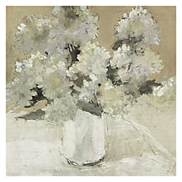 Dale Payson White Hydrangea Bouquet Canvas Wall Art