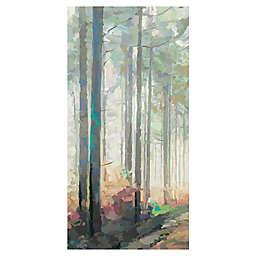 Woodland Journey Panel II Wrapped Canvas Wall Art