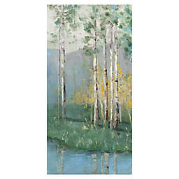 Birch Reflections IV Wrapped Canvas Wall Art