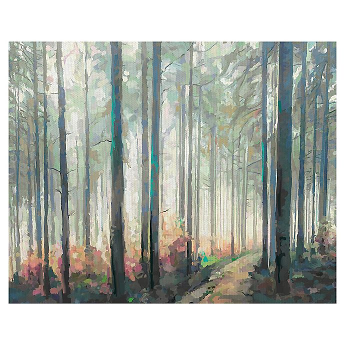 Alternate image 1 for Studio Arts Woodland Journey Wrapped Canvas Wall Art