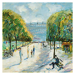 Parisian Afternoon IV Wrapped Canvas Wall Art
