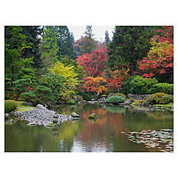 Autumn Waters Wrapped Canvas Wall Art