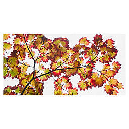 Masterpiece Art Gallery Leaf Silhouettes IV Canvas Wall Art