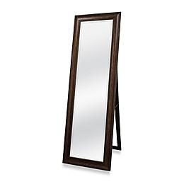 Golden Bronze 20-Inch x 60-Inch Floor Mirror with Easel