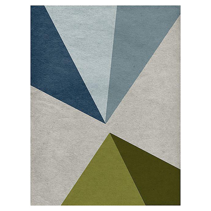 Alternate image 1 for Masterpiece Art Gallery New Linen Geometrics E 18-Inch x 24-Inch Canvas Wall Art