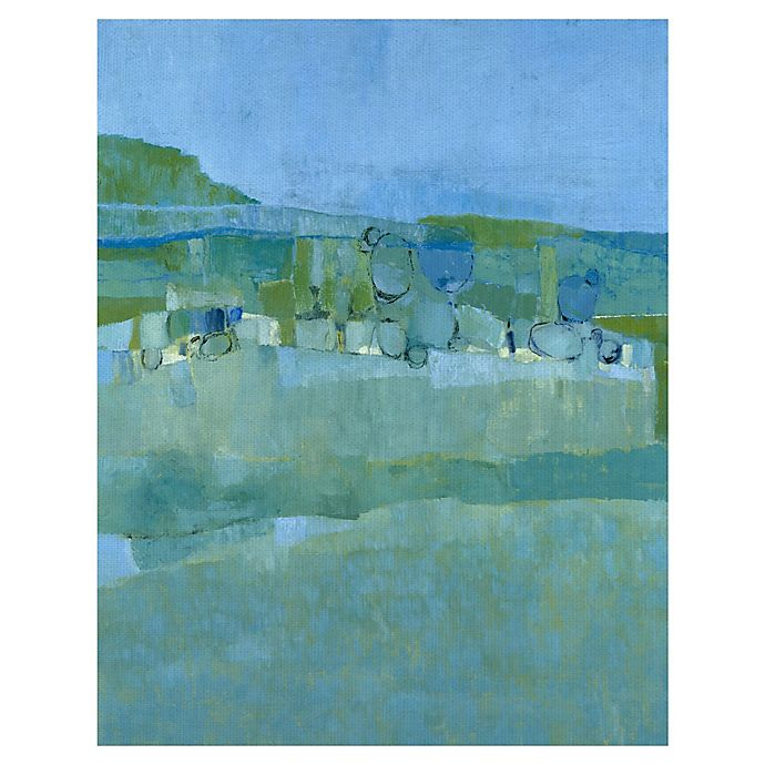 Alternate image 1 for Masterpiece Art Gallery Ice House Pond 22-Inch x 28-Inch Canvas Wall Art