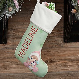 Precious Moments® Personalized Baby's 1st Christmas Stocking
