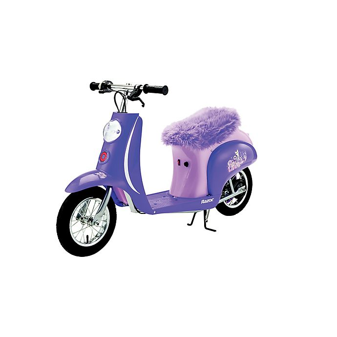 Alternate image 1 for Razor® Pocket Mod Kitty Electric Scooter in Purple