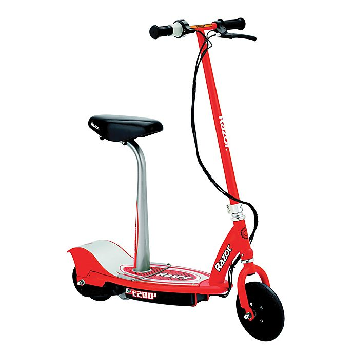 Alternate image 1 for Razor® E200S Electric Scooter in Red