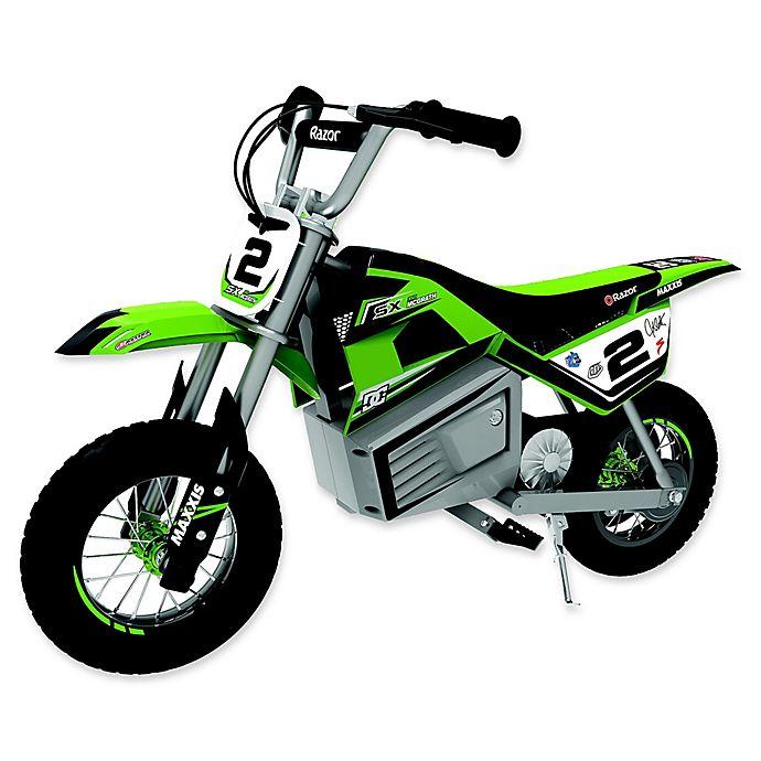 Alternate image 1 for Razor® SX350 Dirt Rocket Electric Bike in Green