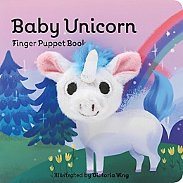 "Chronicle Books ""Baby Unicorn"" Finger Puppet Book"