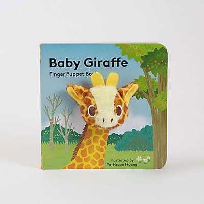 """Chronicle Books """"Baby Giraffe"""" Finger Puppet Book"""