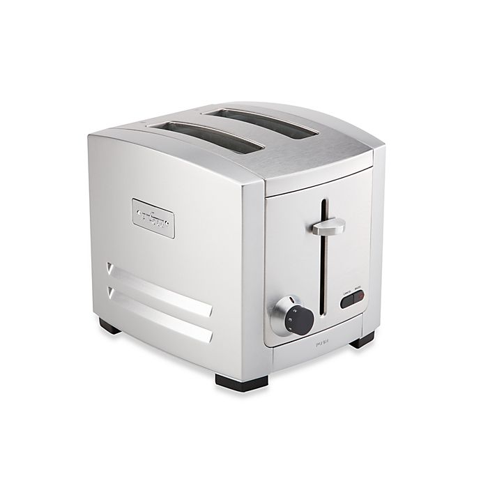 Alternate image 1 for All-Clad 2-Slice Die Cast Stainless Steel Toaster