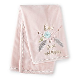 Levtex Baby® Malia Baby Blanket in Pink