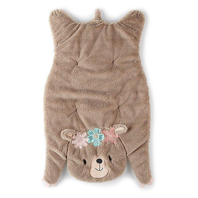 Alternate image 1 for Levtex Baby® Malia Bear Blanket in Brown
