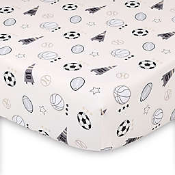 The Peanutshell™ Sports League Fitted Crib Sheet
