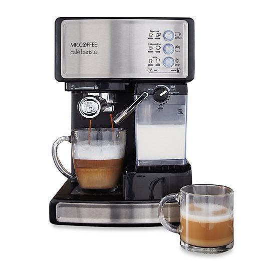 Alternate image 1 for Mr. Coffee® Cafe Barista BVMC-ECMP1000 Espresso Maker