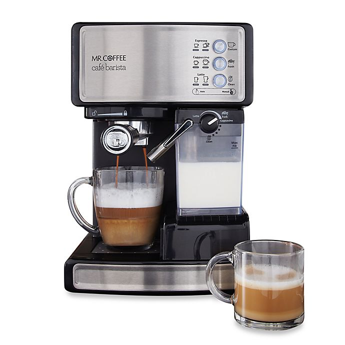 Alternate image 1 for Mr. Coffee® Cafe Barista BVMC-ECMP1000 Espresso Maker