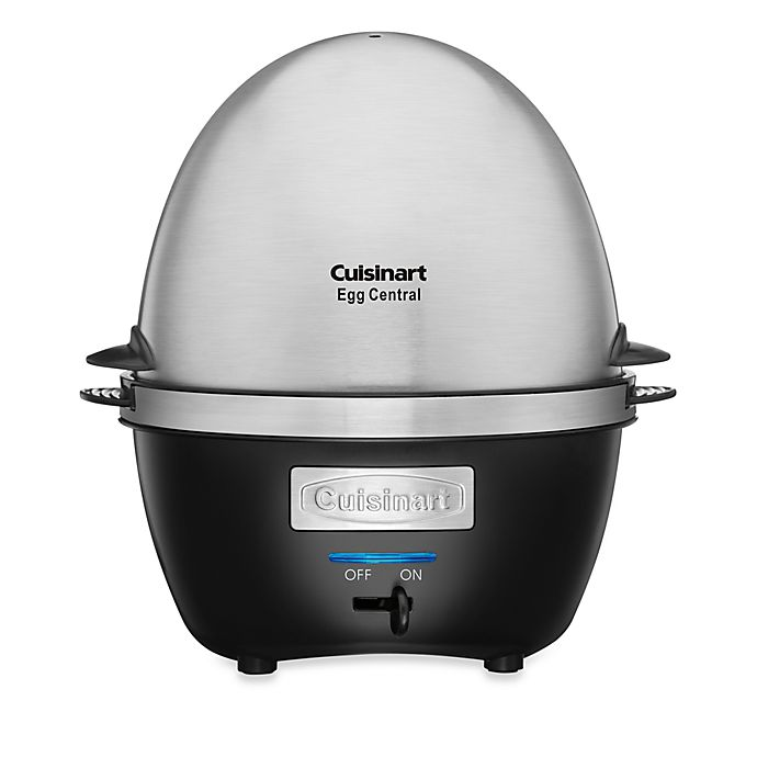 Alternate image 1 for Cuisinart® Egg Central Egg Cooker and Poacher