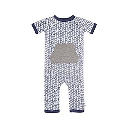 Burt's Bees Baby® Painted Shibori Coverall in Blue
