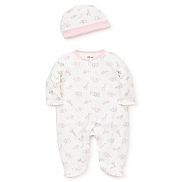 Little Me® 2-Piece Safari Footie and Hat Set in Pink